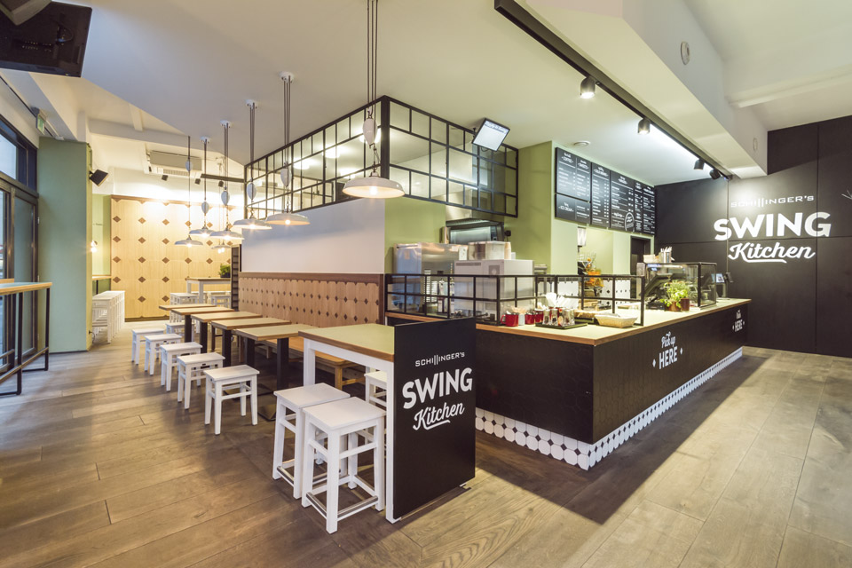 Swing Kitchen – Gastraum