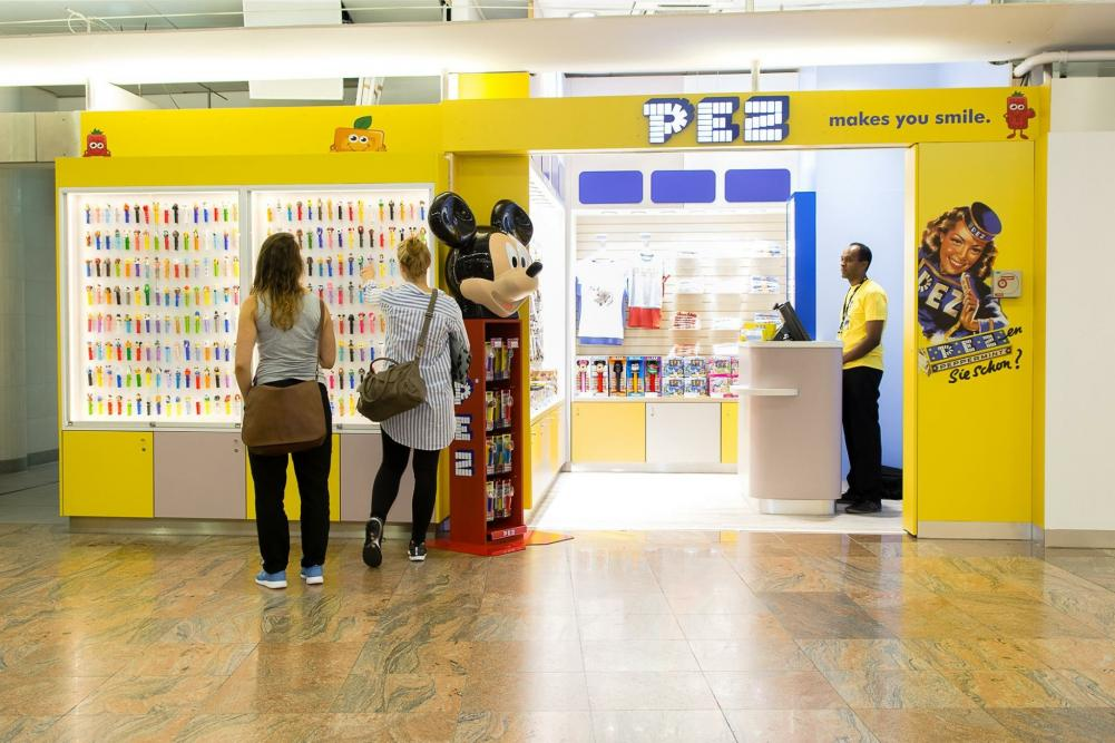 PEZ-Shop Airport Vienna